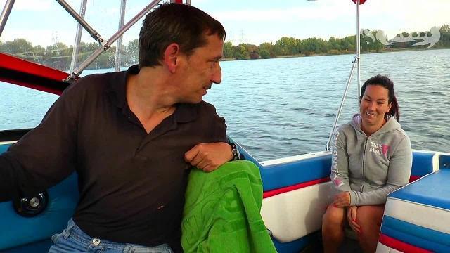 Bootstour für einen Blowjob