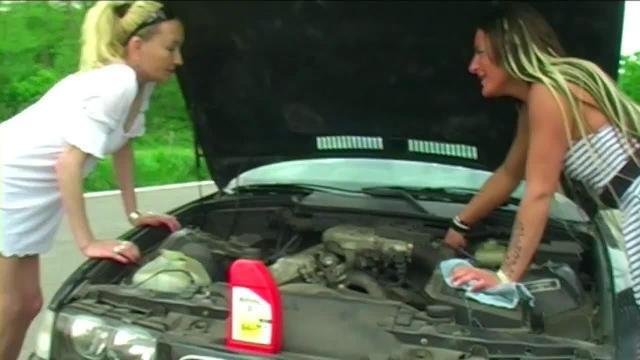 Motor braucht Öl und die Möse braucht Sperma