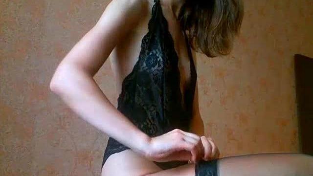 Geiles Girl in Black