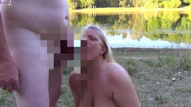 User füllte mich, Public, mit Sperma und Pisse ab!