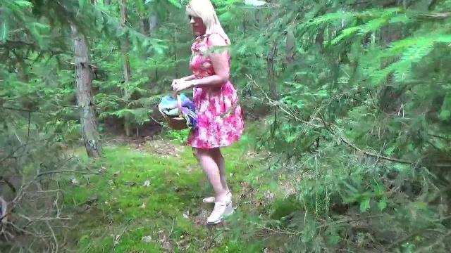 Piknik im Wald-Gurken Orgasmus