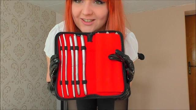 Cbt-Dilator in deinem Schwanz