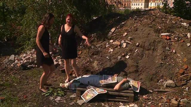 der Penner von der Müllhalde