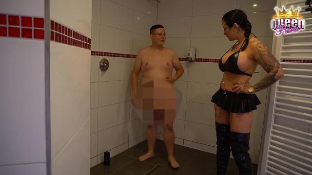 Teeny-Sex mit Jan 18 unter der Dusche ! Unglaubliches XXXL Sperma-Finale !!!