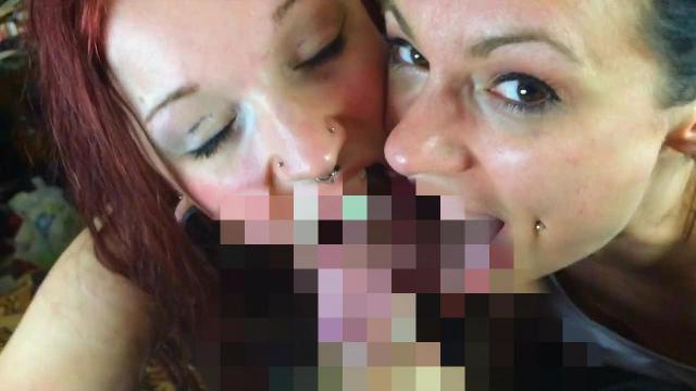 Blowjob von zwei Girls - Teil 3