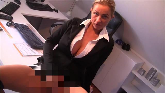 Fuck ! Stress mit Chef im Büro ! Nylonfick !
