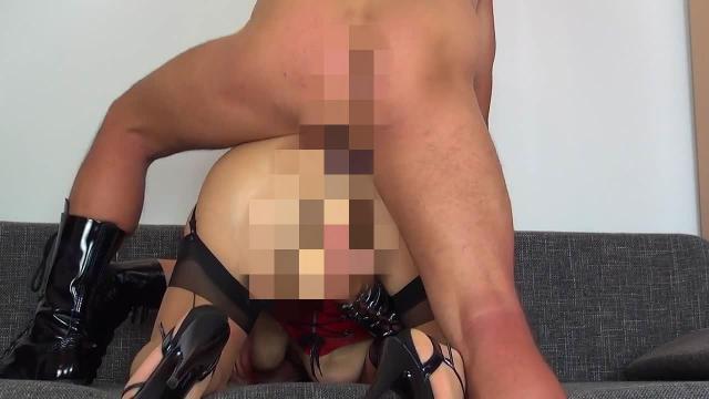 Schwanz im Arsch und Dildo in Fotze