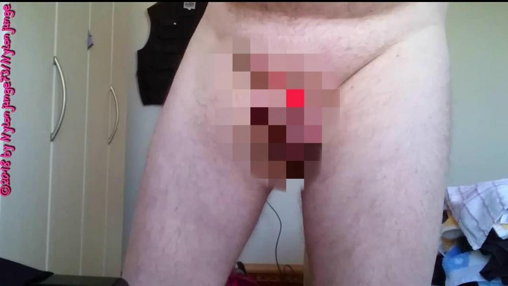 high heels ficken penis im staubsauger