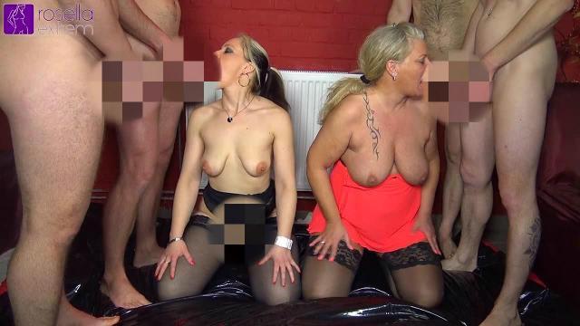 Versaute Pisse-Orgie mit Loly und Rosella!