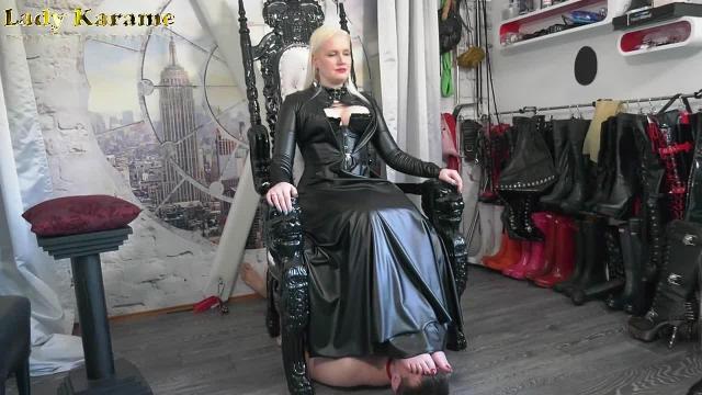 Fußmatte der Herrin