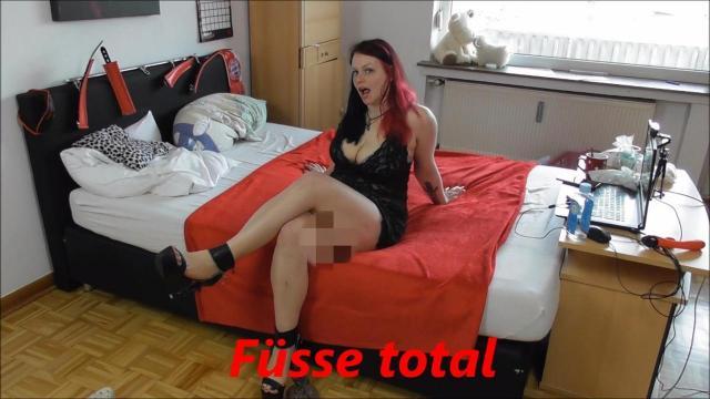FÜßE Total!!! Wichsanleitung mit Footjob