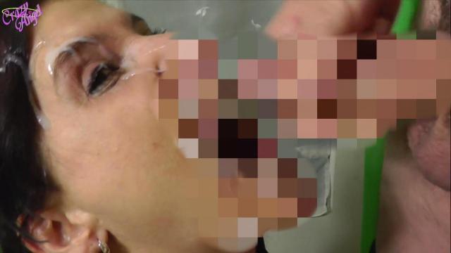 Gierig nach Sacksahne - Extrem Facial-