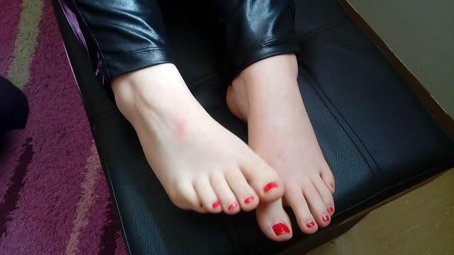 Genieße meine Füße