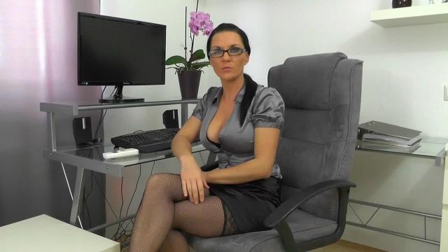 Spermageile Anal-Oral Sekretärin