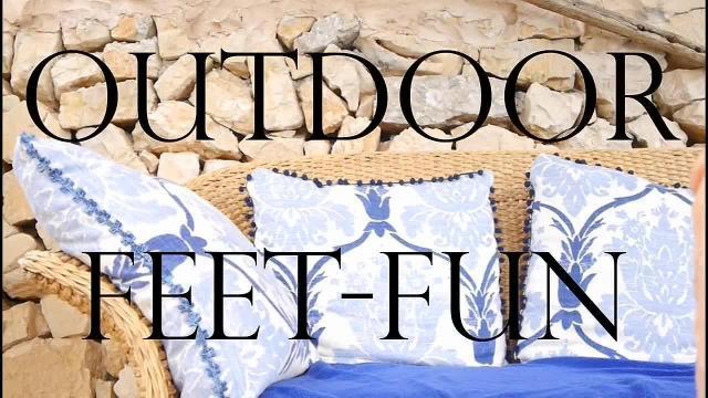 Outdoor Feet-Fun