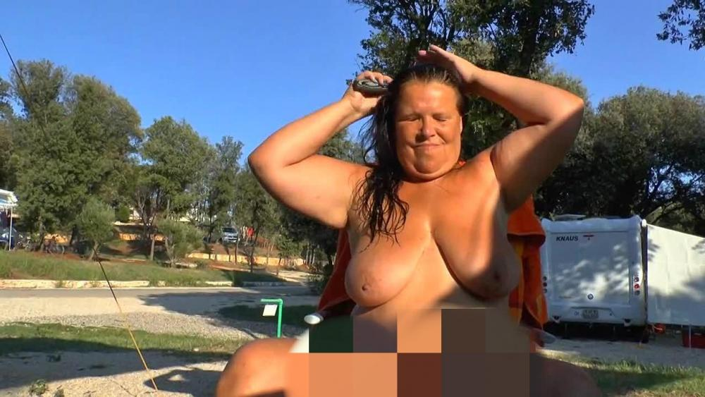Beim camping nackt Category:Nude standing