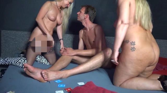Mega Schwanz Dreier - Sperma Rausch im Swinger Club
