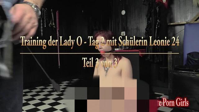 Training der Lady O - Tag 2 mit Schülerin Leonie 24 - Teil 3