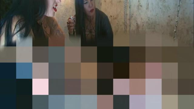 Kerkerhaft im Femdom Empire Teil 3 – Unfickbar! Verlängerung der Haftstrafe bei Lady Vampira und Lady Raquel