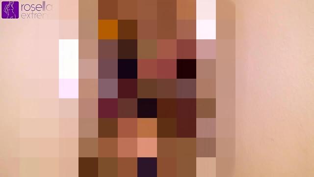 Sex-Sklavin Karina, 15 Männern und 2 Mädels, zur Benutzung vorgeführt! Teil 3