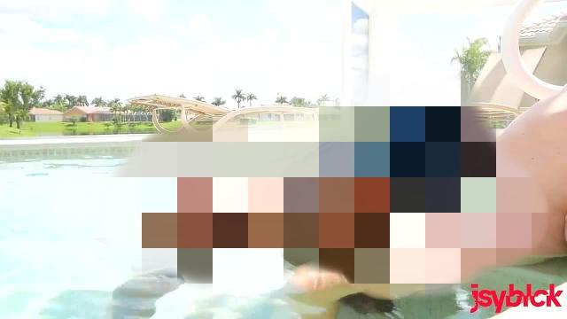 Public Fotzensprengung in Miami