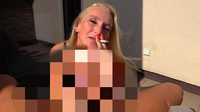 Smoky Dirty Talk Melkung - Wichs Blowjob mit Sperma Facial