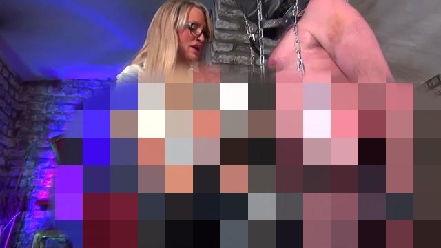 Der ruinierte Orgasmus mit Sperma schlucken