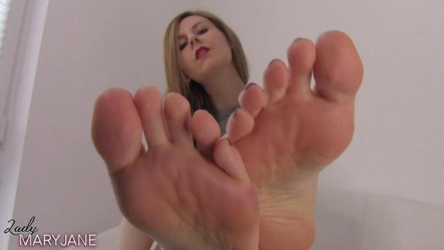 Werde mein Fußlecker