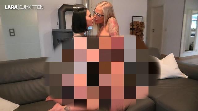 Männertraum   Zärtliche Mädchen Liebe mit Sperma Finale