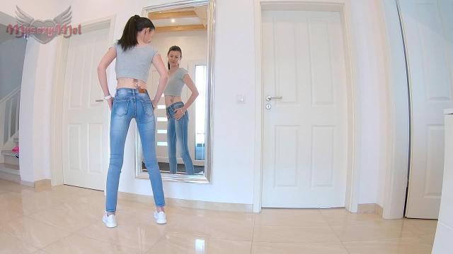 Mega Spiegel Jeans- Piss