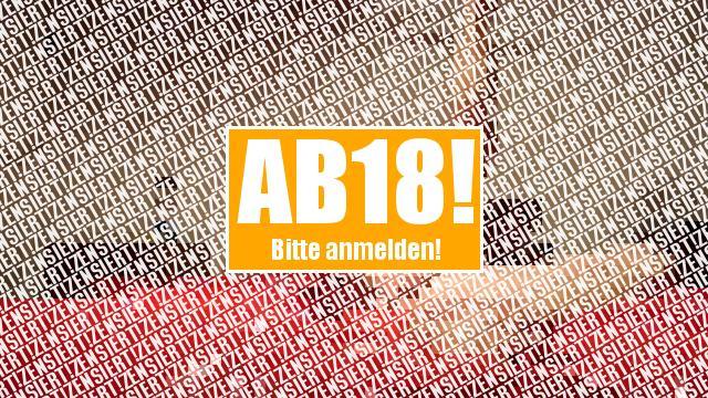 Riesiger 46x6cm Saugfuss-Dildo Arschfick